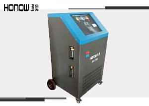 China R134a R22 Car AC Recovery Machine , Automatic Refrigerant Charging Equipment on sale
