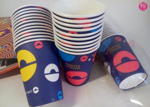 China Eco Friendly Custom 270G with Single PE Coated Paper Cup for Hot Drinking on sale