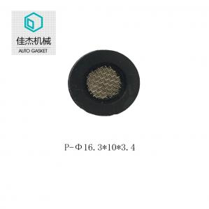 China haining jiajie rubber filter mesh gasket for high pressure cleaning machine on sale