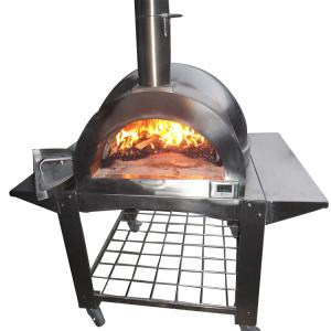 Outdoor Pizza Oven Factory Direct High Quality Stainless Steel Wood