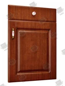 China Anti Deformation Masonite Molded Panel Doors / Brown Wood Composite Doors on sale