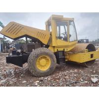 China BOMAG BW225D-3 Used Road Roller , Single Drum Vibratory Roller Deutz Engine 147kw on sale