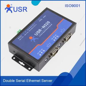 China [USR-N520]  2 -Serial Port Ethernet converter,  Modbus gateway RS232 RS485 RS422 to TCP/IP converter on sale
