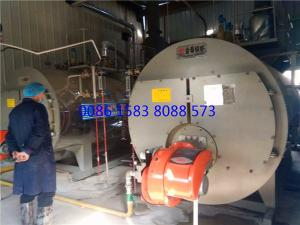 China 2 Ton Horizontal Gas Fired Steam Boiler For Vegetable Oil Refining, Steam Boiler For Essential Oil Distillation on sale