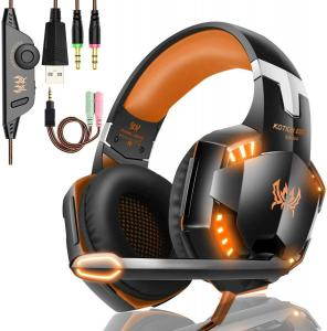 China Computer DC5V 2.2kohm G2000 Stereo Gaming Headphone on sale