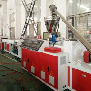 China 6m/Min Double Screw 75KW PVC Pipe Making Machine on sale