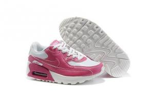China Nike Air Max 90 Kids Shoes White Pink Review From tradingaaa.com on sale