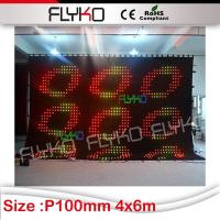China cheap goods from china New inventions soft LED video curtain on sale