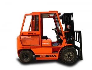China 3t Diesel Engine Automated Forklift Trucks / Automated Pallet Truck Hydraulic System on sale