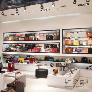 Quality Fashion Handbag Display Cabinet For