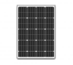 China 50W 12V Solar Panel Easy Cleaning , Roof Mounted Poly Crystalline Solar Panel on sale