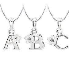 China Unique excellent workmanship Sterling Silver Initial Charms  with RH plating on sale