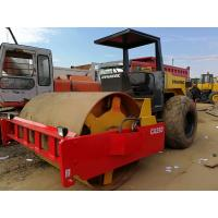 China USED ROAD ROLLER DYNAPAC CA25D SINGLE DRUM ROLLER IN GOOD CONDITION,ORIGINAL SWEDEN USED ROAD CONSTRUCTION MACHINERY on sale