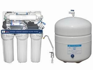 China Reverse Osmosis System 125G RO Water Purifier with water Storage tank on sale