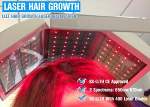 China Max 20Mw Per Diode Laser Hair Regrowth Device Laser Treatment For Baldness on sale