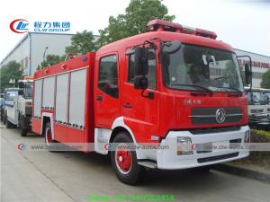 China Dongfeng Tianjin 4x2 8000L Water Tank Fire Rescue Truck on sale