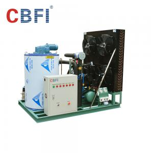 China 316 Stainless Steel 3 Ton Saltwater Flake Ice Machine Low Power Consumption on sale