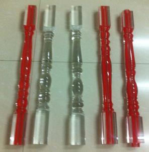 Quality Commercial Acrylic Banister Stainless Steel Spindles For Stairs