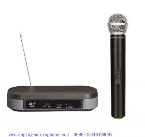 China LS-7310 one-handheld UHF wireless microphone / micrófon cheap /  headset Lavalier / SHURE PG88 on sale