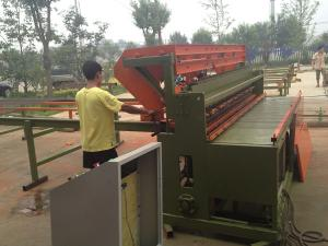 China Automatic Welded Gabion Wire Mesh Panel Welding Machine With High Speed on sale