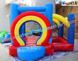 China Rentable Mini Jumper, Commercial grade PVC tarpaulin Inflatable Bounce Houses for Kids on sale