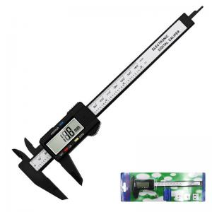 China 6 Inch Plastic Vernier Caliper 150mm Electronic Digital Caliper Gauge Micrometer Measuring Tool Digital Ruler on sale