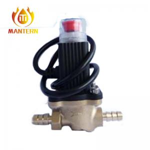 China Wrought 12V Manual Reset Gas Safety Shut Off Valve NBR Seal For Home Kitchen on sale