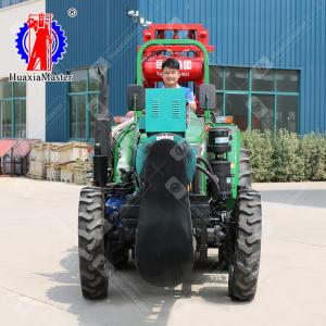 China HuaxiaMaster JZF-C Tractor Mounted 100-200m Deep Water Well Drilling Rig Sale in Africa on sale