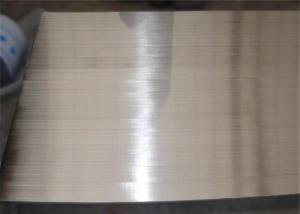 China Sino Metal  Brushed Stainless Steel Plate , Metal Steel Plate Multi Inspection on sale