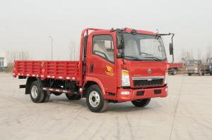 China 10 Ton 4x2 Sinotruk Howo7 Heavy Cargo Truck Red Color 6 Tires With Air Conditioner on sale