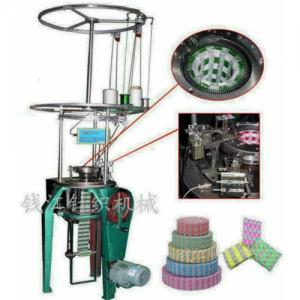 China Jacquard weave Cleaning cloth knitting machine on sale