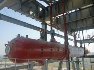 China Corrosion Resistance Oil Steam Boiler Drum In Thermal Power Plant , ISO9001 on sale