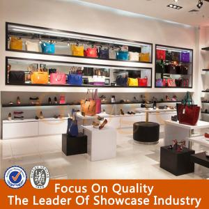 Quality Retail Handbag Gl Display Cabinet For