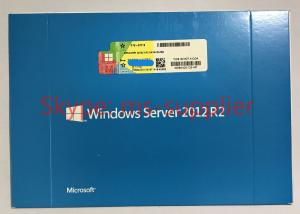 China Microsoft Windows Server 2012 Standard R2 x 64- Bit OEM 2 CPU 2 VM / 5 CALS on sale