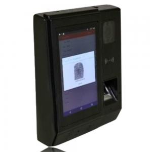 China Built-in Li Battery Biometric Fingerprint Time Attendance and Door Access Control System with Wireless GPRS or WiFi on sale
