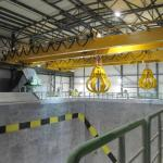 Explosion Proof 80T Overhead Travelling Crane Frequency Control Of Motor Speed