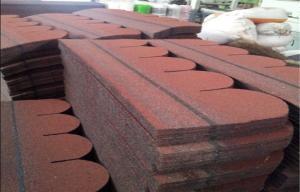 Quality Fish Scale Fiber Gl Asphalt Roofing Shingles 3 Tab Roof For
