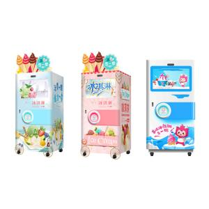 China Automatic Self Service Soft Ice Cream Vending Machine For Food / Beverage Shops on sale