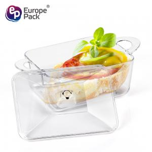 China Wholesale quality disposable dessert tableware 70ml small food container with lid on sale