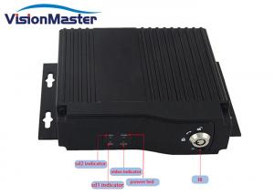 China Full HD 720p Vehicle Mobile DVR Double Sd Card 4 Channels For School Bus on sale