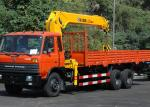 Durable 12 Ton Truck Loader Crane CE Certification For Transportion