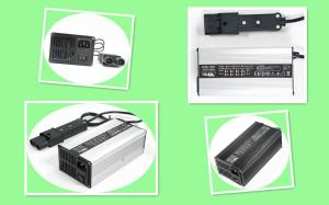 China Light Weight Electric Motorcycle Battery Charger 24V 12A For Lithium Batteries on sale
