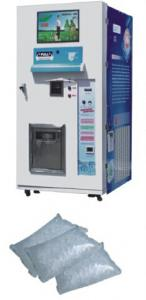 China Pure Ice Vendor Machine / Vending Machine 24 Hour ICE Automatic Ice Bagging Machine on sale