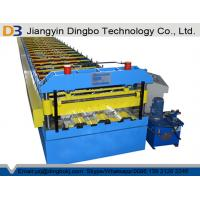 China Building Material Metal Roof Galvanized Iron Sheet Floor Deck Roll Forming Machine Production Line on sale
