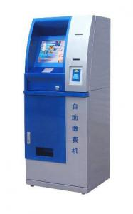 China Bill payment, Cell Phone Charging,  Account access Self service bank Lobby Kiosk on sale