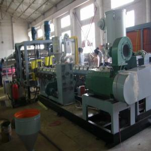 China One - Layer Sheet Plastic Extrusion Machinery For Forming Cup , Plastic Sheet Extruder Machine on sale