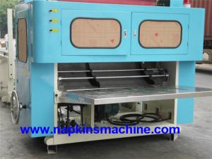 China N Fold Tissue Paper Towel Making Machine , Laminated Hand Towel Folding Machine on sale