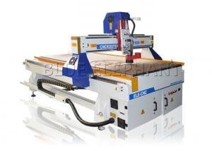 China Stepper System 3d Wood Carving Cnc Machine , Computerized Router Machine For Aluminum on sale