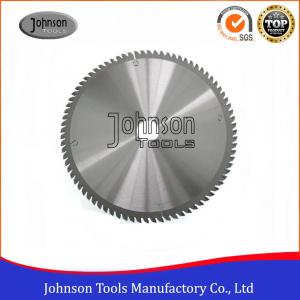 China 250mm Aluminum Cutting TCT Saw Blade / Circular Saw Blade Clear Color on sale