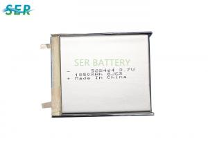 China Deep Cycle Lithium Polymer Battery Cell Recharge Bluetooth Headset 525464 3.7 Voltage on sale